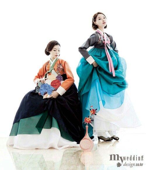 Hanbok ( tenue traditionnelle coréenne)