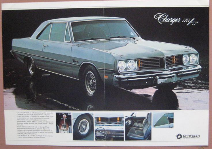 1980 Dodge Charger R T Brazil Brazilian Classic Cars