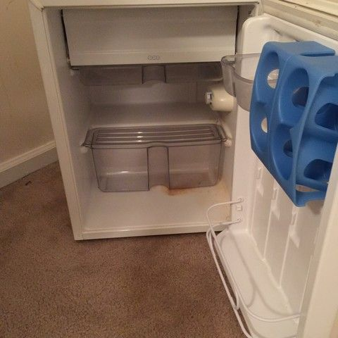 Whirlpool mini fridge for sale. In great condition. $60