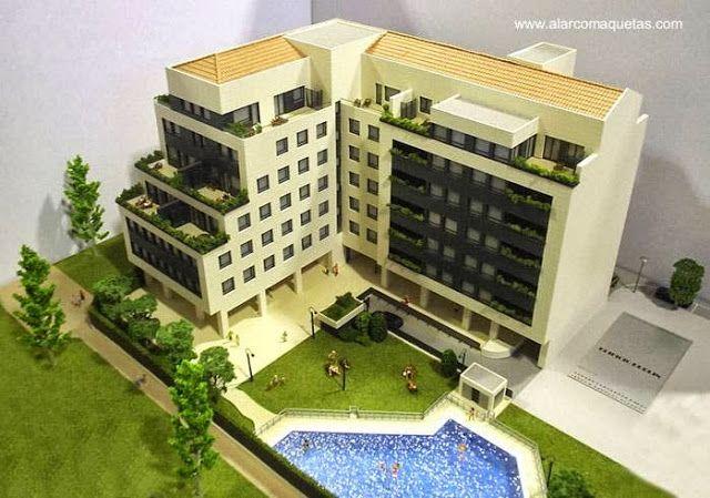Arquitectura de casas maquetas de arquitectura for Arquitectura de interiores madrid
