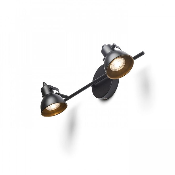 ROSITA II 230V LED GU10 2x9W Our code R12510.  #rendl_lighting #lightdesign #interiordesign #interiorinspiration #lighting #interiordecor #lamp #homedecor #moderndesign #chandelier #livingroom #bedroom #interiores #decoracaodeinteriores #dream_interiors