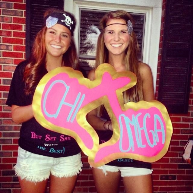 this would be awesome for bid day, but A Chi O instead