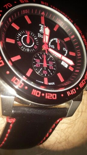 Swiss Made Chronograph from Bussy Watches