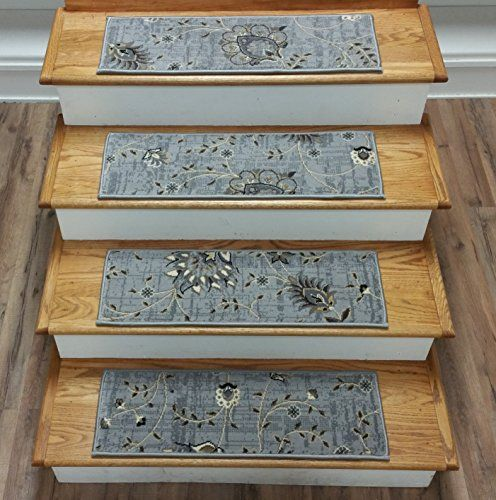 174378 - Rug Depot Transitional Carpet Stair Treads - Set…