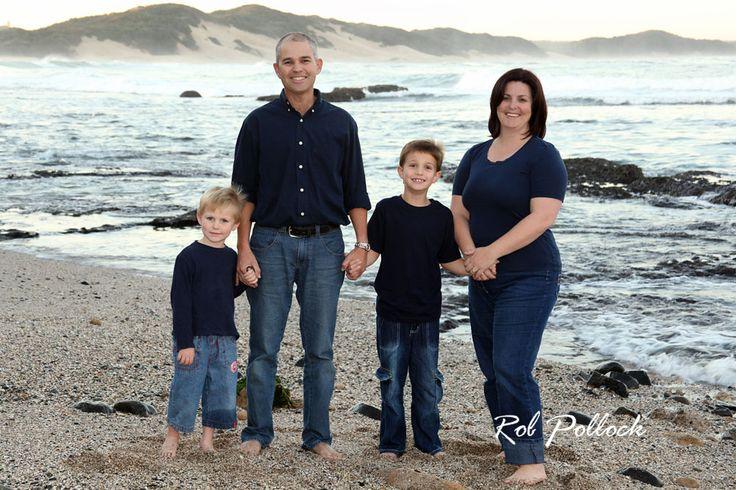 Family beach portrait by www.pollocks.co.za