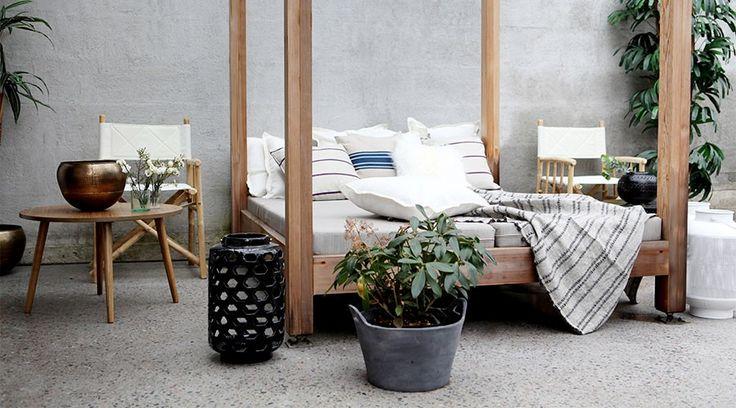 Den nye terrassetrenden:  Vi innreder uterommet som om det var stua