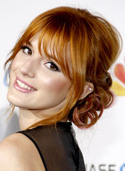 Bangs Hairstyles - Photos and More