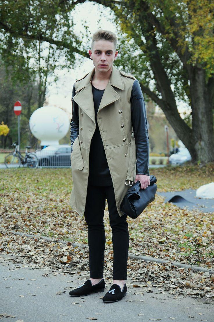 Przemek, 22 - ŁÓDŹ LOOKS www.facebook.com/lodzlooks #fashionweekpoland #fashionphilosophy #lodz #lodzlooks #fashionweek