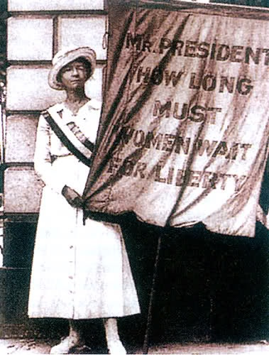 Susan B Anthony Suffragette and Protestor