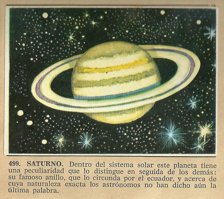 Album Historia Natural 1968  499 Saturno