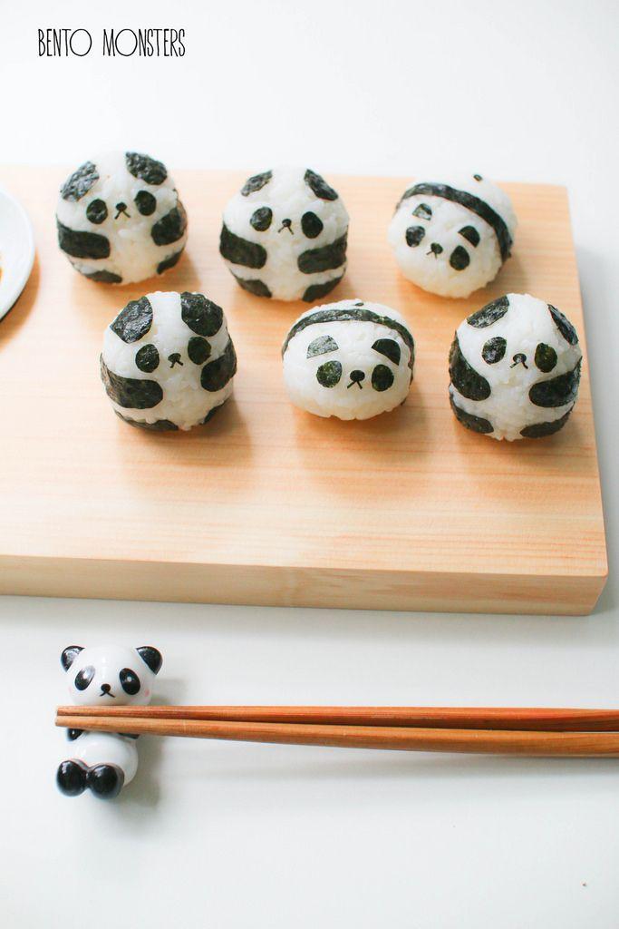 Panda and Penguin Sushi