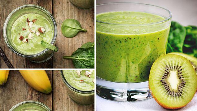 Och antioxidanter är nyckeln till ett långt och hälsosamt liv. En grön smoothie kan du göra med brännässlor, kiwi, spenat, avokado och andra godsaker! Det kanske ser läskigt ut men oj, så gott det är! Här har vi samlat våra bästa recept på gröna smoothies!    Läs också: Gröt – 5 anledningar att äta äta det varje dag    Läs också: Julias snabba – så gör du cirkusgröt    Läs också: Juice – nyttiga recept som stärker immunförsvaret    Läs också: 10 anledningar till att du ska dricka te oftare…