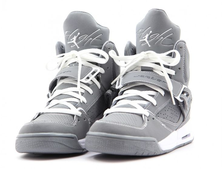 Nike Jordan Flight 45 High air jordan flight 45 grey white 73de4576a