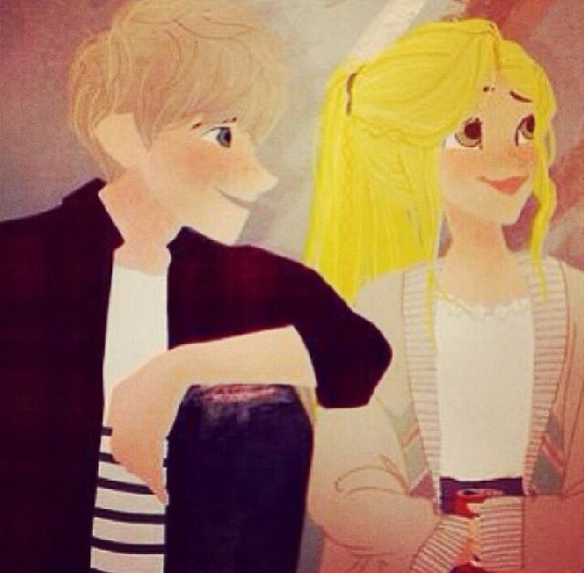 Eveleen and Jack ( no is rapunzel and jack :) )