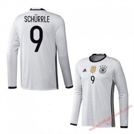Tyskland 2016 Schurrle 9 Hjemmedrakt Langermet.  http://www.fotballpanett.com/tyskland-2016-schurrle-9-hjemmedrakt-langermet-1.  #fotballdrakter