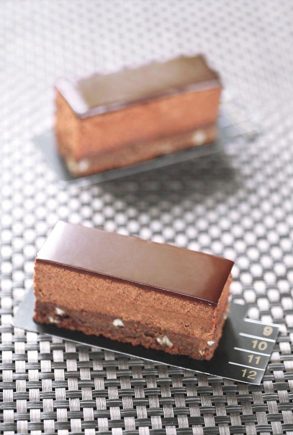Verdade de sabor: Трюфельный бар с каштанами / Barras trufadas de chocolate com castanhas