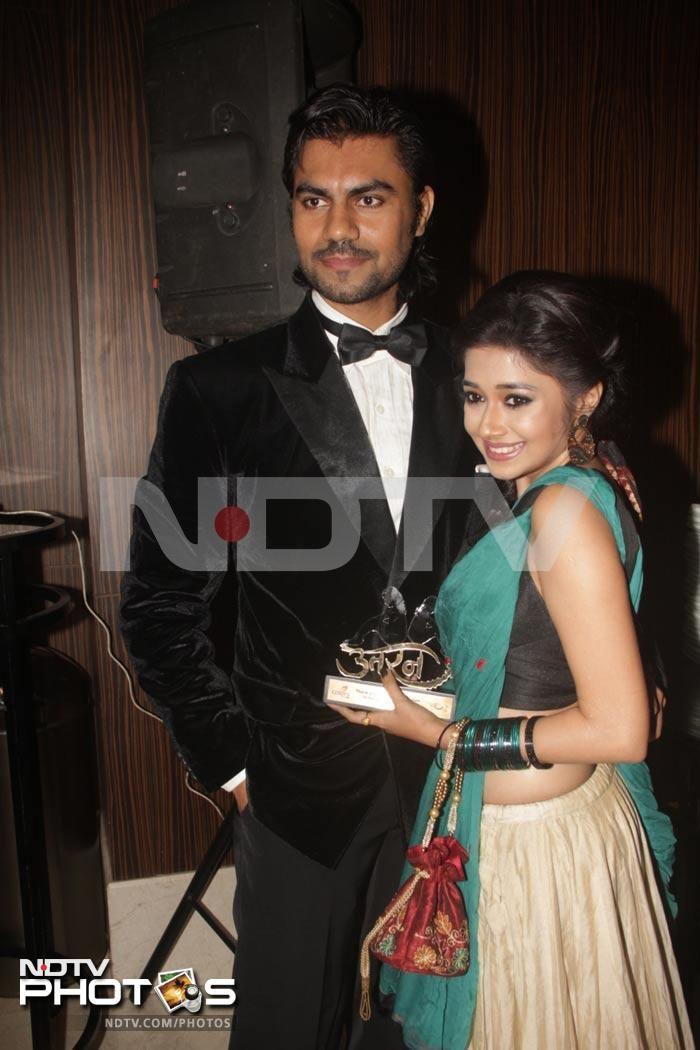 Tina Dutta with Gaurav Chopra so cute