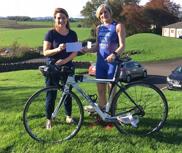 Fundraising helps Penrith triathlete represent Team GB in Germany http://www.cumbriacrack.com/wp-content/uploads/2017/11/IMG_0020.jpg Karen Bridge of Penrith, Cumbria has always been a committed runner, winning medals and trophies in competitions for many years    http://www.cumbriacrack.com/2017/11/15/fundraising-helps-penrith-triathlete-represent-team-gb-germany/