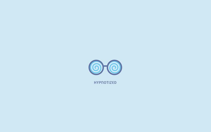 hypnotized minimal wallpaper light