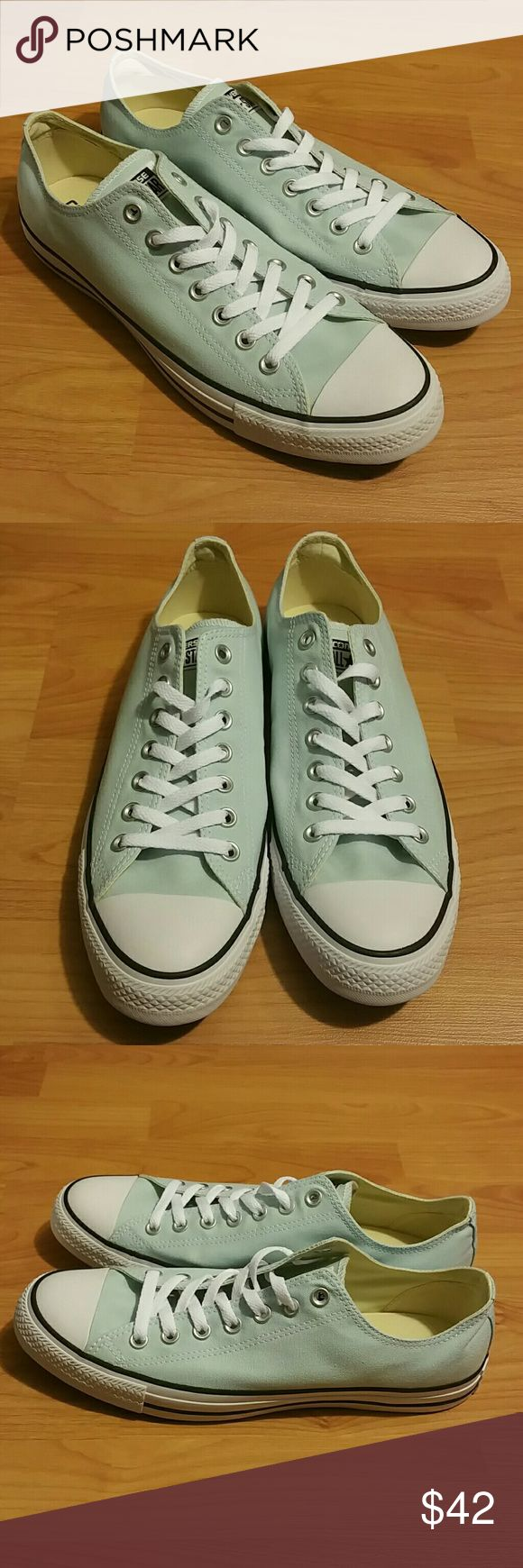 Mens converse all star New. Size 10. Never worn. Color light blue. Converse Shoes Sneakers