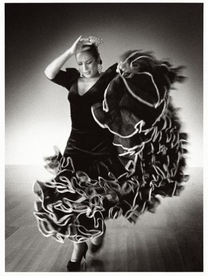 Carlos Saura - Serie Flamenco: Lola Flores, ensayo para Sevillanas, 1991
