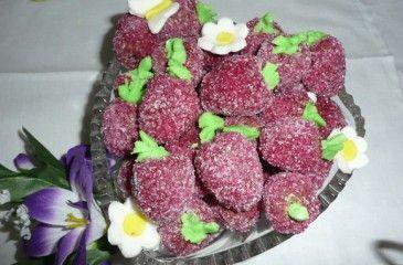 Печенье Клубника - рецепты с фото. Как приготовить печенье без выпечки, с вареньем и с замороженной клубникой