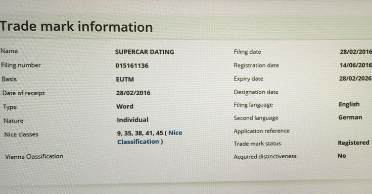 Breaking News - 14/6/16 - Epic Achievement - Word Mark - Supercar Dating achieves Registered Trademark Status across the whole of Europe - Supercar Circle ( Millionaire Online Social Networking ) & Supercar Dating ( Millionaire Online Dating ) - 9 Trademarks ( Hollywood News, The Sunday Times UK, Kiss FM, Channel 4 UK TV etc) #supercarclub #global #millionaire #supercar #lamborghini #ferrari #porsche #lotus #maserati #supercarcircle #supercardating #theluxxgrid #enzo #laferrari #fordgt40