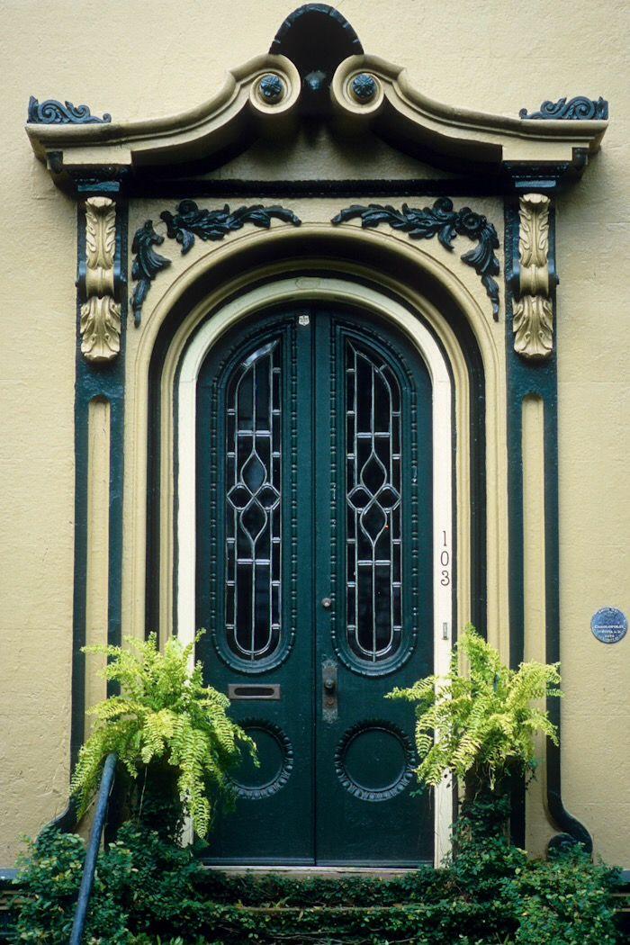 handsome entry door