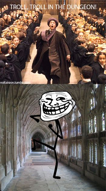 TROLL! TROLL IN THE DUNGEON!