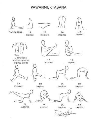 A sequência do Yoga Pawanmuktasana lubrifica as articulações e aquece o corpo. Indicada para quem tem dores crônicas. Fazer pela manhã par...