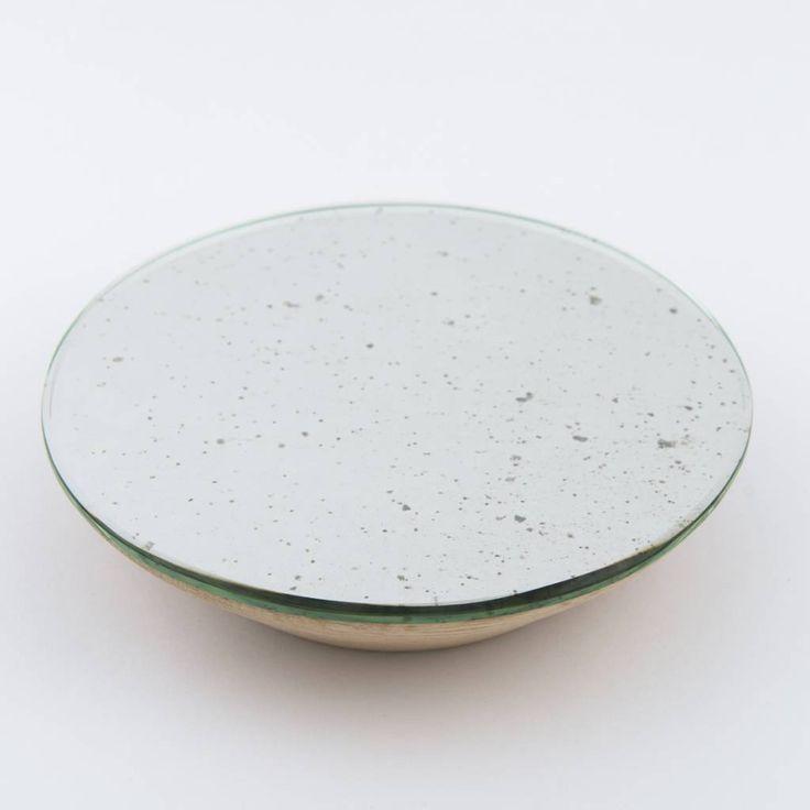 Silver mirror hook