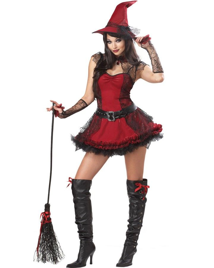 Mischievous Witch Womens Costume