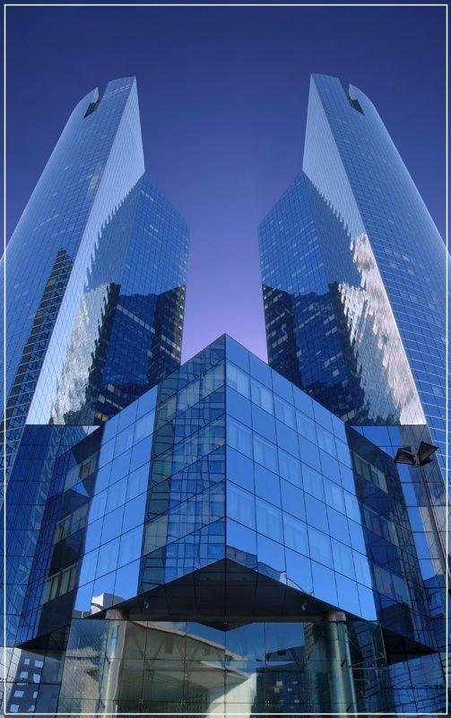 Finally a corporate place <3   La Defense – Paris, France