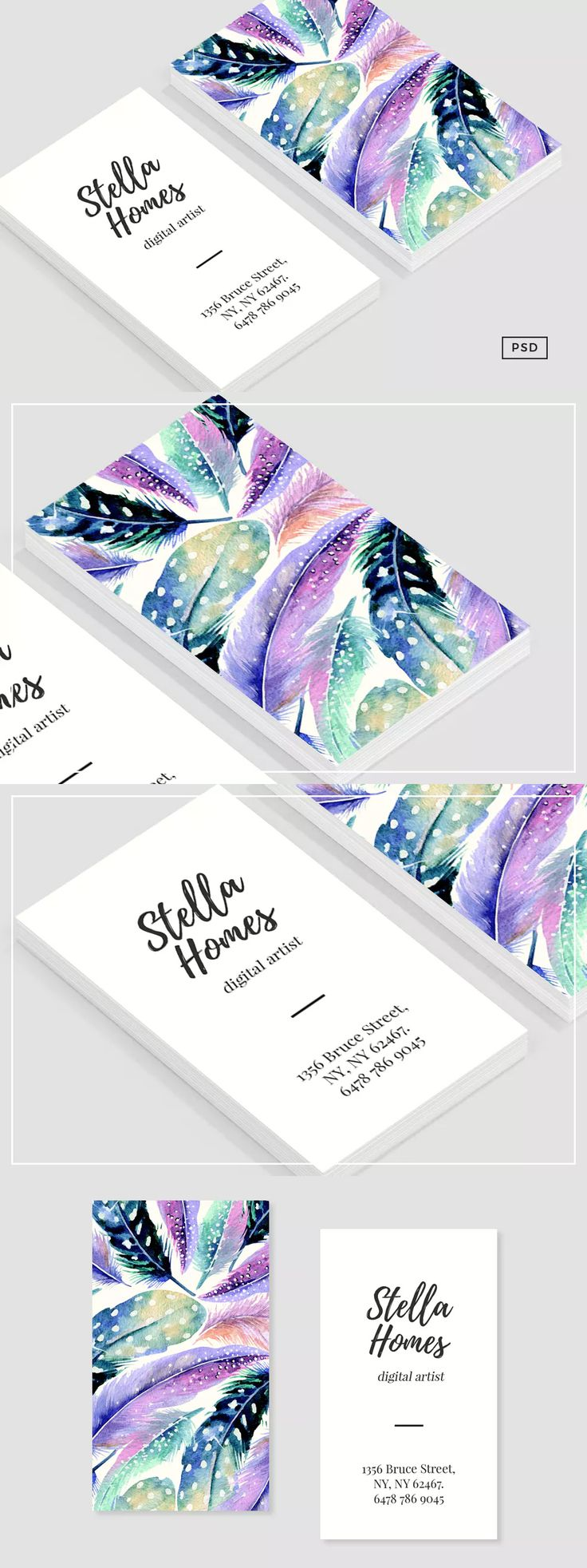 1583 Best Business Card Templates Images On Pinterest