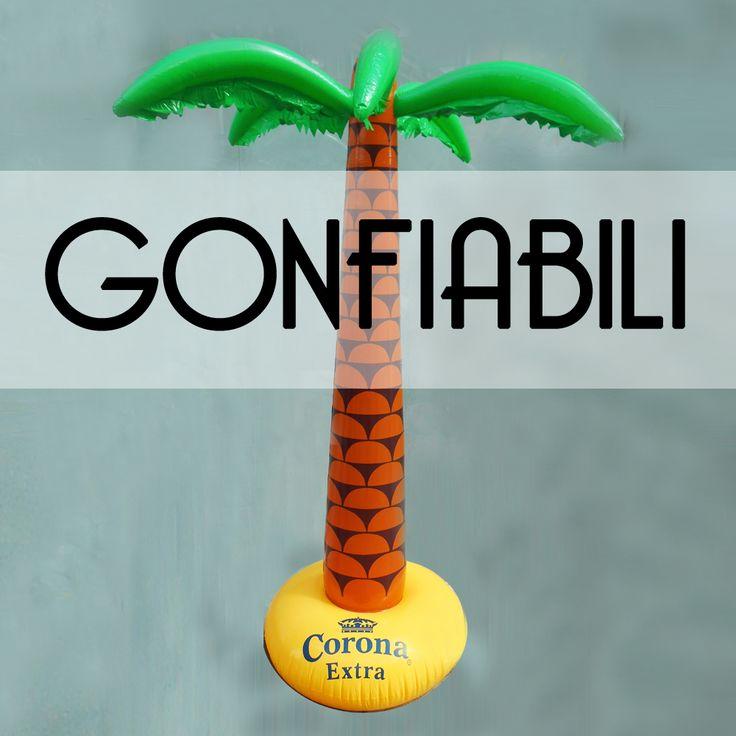 Palme, igloo, materassini e tavolette gonfiabili! Perfette per i tuoi party estivi. ;) ➡ http://ebay.eu/1PjSVBU