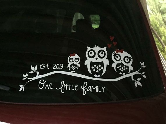Best  Family Car Decals Ideas On Pinterest Family Car - Owl family custom vinyl decals for car