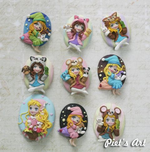 Cameo from polymerclay