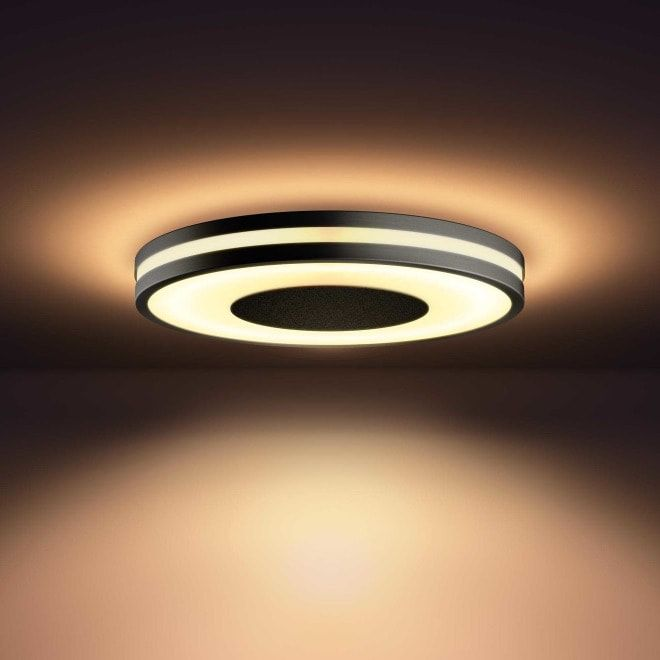 Philips hue Being LED Deckenleuchte schwarz in 2020 | Led ...