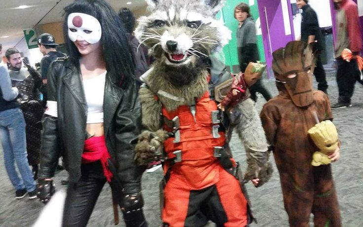 Joined the Guardians of the galaxy!!   #marvel #marvelcosplay #guardiansofthegalaxy #rocket #cosplay #cosplaygirl #cosplayer #comic #red #black #mask #skwad #japan #suicidesquadmovie #groot #iamgroot #rocketcosplay #katana #katanacosplay #suicidesquad #thejoker #harleyquinn #comic #babygroot
