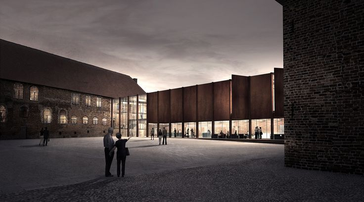 Cubo + jaja Win Competition to Restore the Nyborg Castle in Denmark,Courtesy of Team Cubo