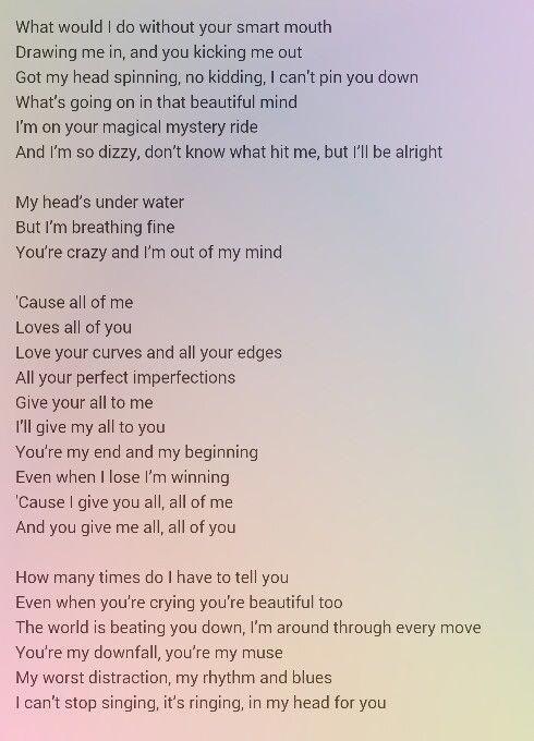 Your boyfriend song lyrics for Get Mushy