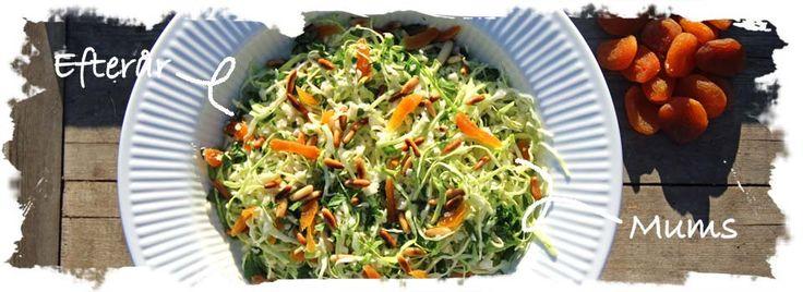 SalatTøsen » Hverdagsråkost m. knoldselleri, spidskål og abrikoser