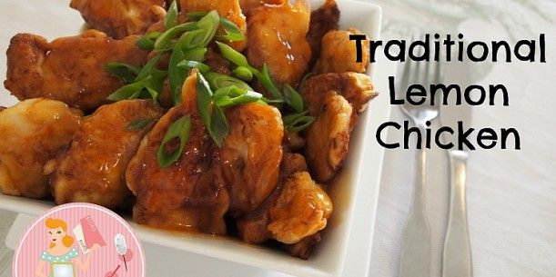 Traditional Lemon Chicken | Stay at Home Mum