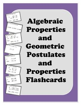 properties and postulates View notes - postulates and properties review from math geometry at eleanor roosevelt high school durbec geometry class notes 10/11/12 postulates and properties addition postulate: if.