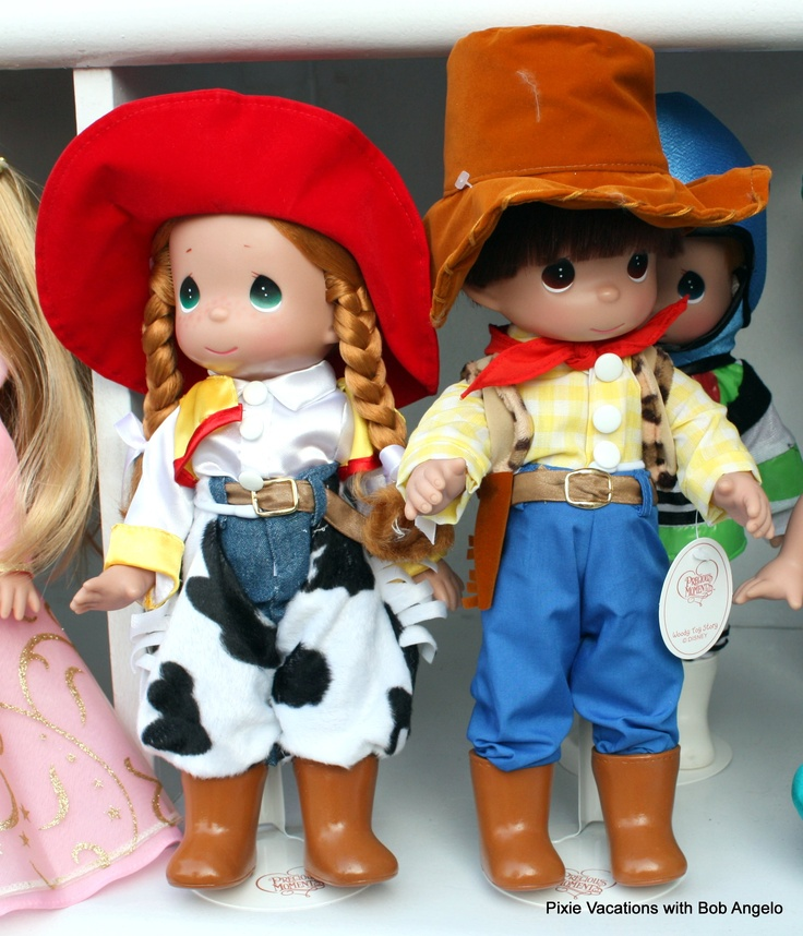 toy story u0026 39 s jessie  u0026 woody precious moments dolls by linda