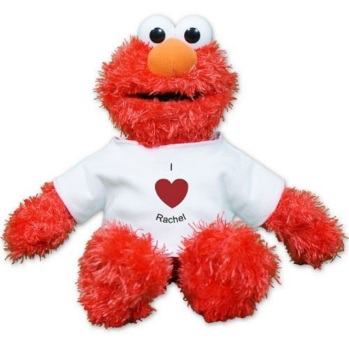 Personalized I Heart Elmo Doll