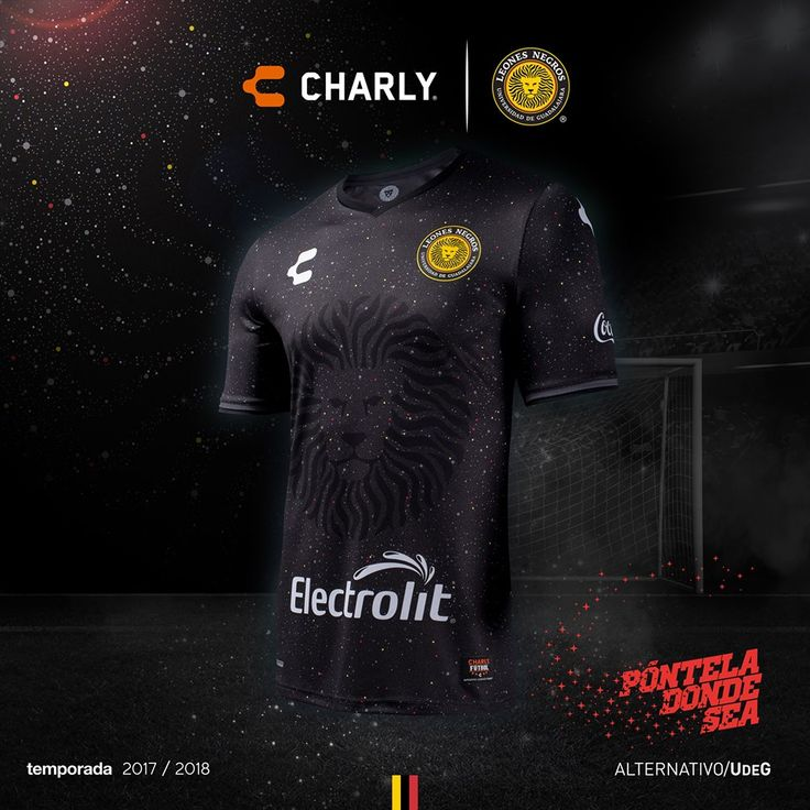 Terceira camisa do Leones Negros 2018 Charly