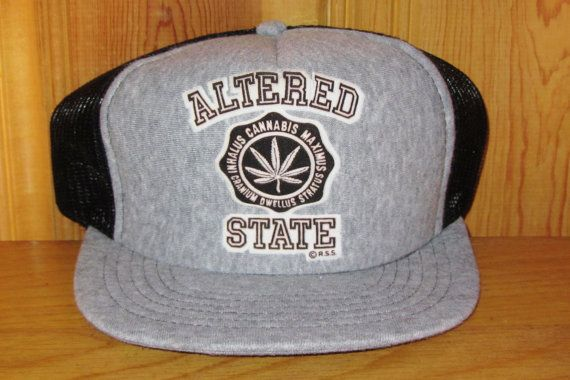 "ALTERED STATE 'Inhalus Cannabis Maximus Cranium"" Marijuana Hat at HatsForward"