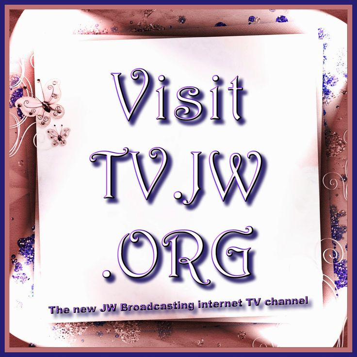 Scentofthehighlands enjoys the new Internet TV channel from JW.ORG,  JW Broadcasting: TV.JW.ORG while stuck in bed. Spread the word please re-Pin my Pin.