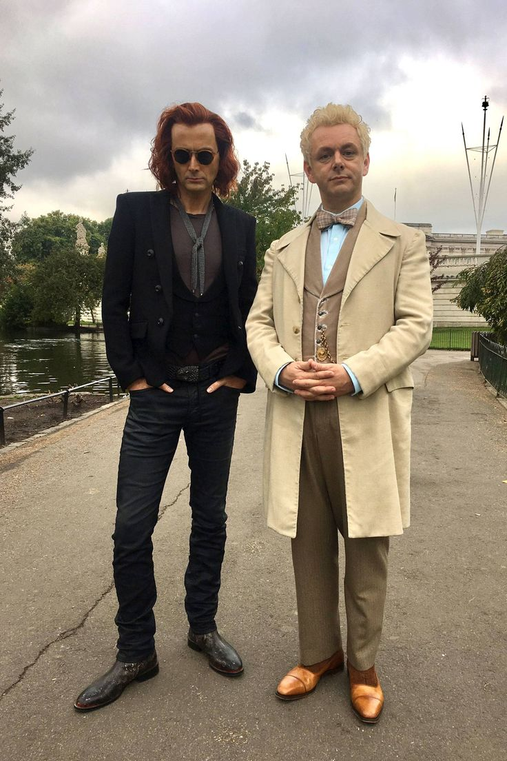David Tennant teases 'epic' 'Good Omens' TV show